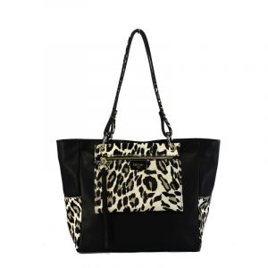 Shopping bag de piel