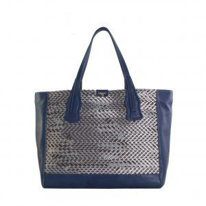 bolso de mujer color azul