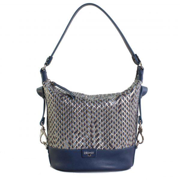 Bolso azul de mujer blover