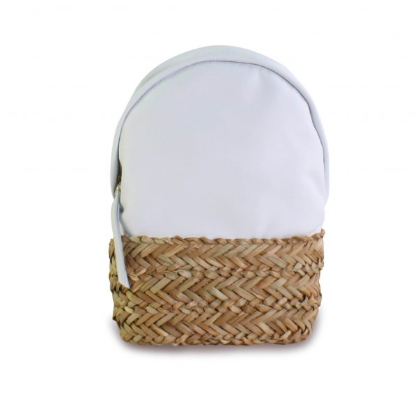 bloverbags presenta su mochila dasha en blanco