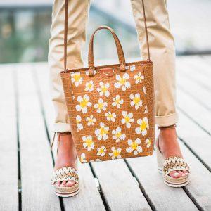 Este bolso mediano es un shopper ideal